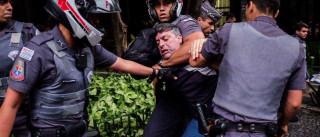 PM passará a usar jatos de água  em protestos, diz Alckmin