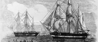 Sonar ajuda a encontrar barco que  desapareceu em 1846