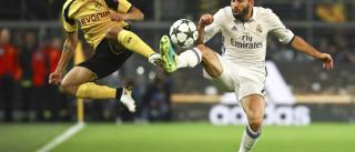 Dortmund marca no fim e arranca empate com o Real