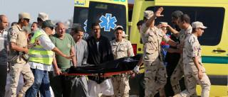 Número de mortos em naufrágio  no Egito já passa de 200
