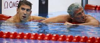 Phelps aconselhou Lochte a não fazer besteira no Rio antes do 'assalto'