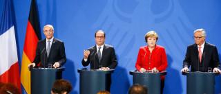 Líderes europeus debatem  crescimento em reunião em Berlim