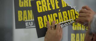 Greve dos bancários ampliou queda na concessão de créditos