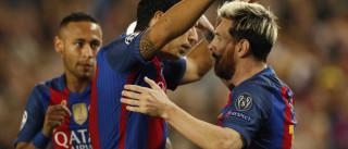 Goleada no City faz trio MSN ultrapassar  100 gols em 2016
