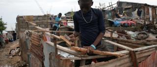 Doações para vítimas do furacão  no Haiti são insuficientes