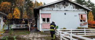 Incêndio atinge abrigo para refugiados na Suécia