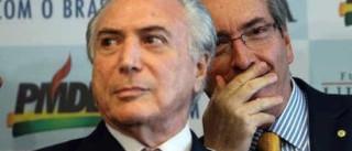 """Cunha ameaça """"derrubar dois presidentes""""  e gera medo em Brasília"""