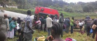 Grave acidente de trem mata 53 pessoas em Camarões