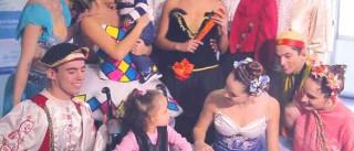 Cia Cisne Negro leva dança para crianças hospitalizadas em SP