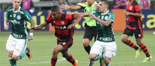 Flamengo pede à CBF para jogar nos mesmos horários do Palmeiras