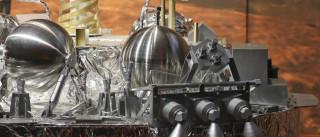 Imagens mostram a destruição  do módulo Schiaparelli em Marte