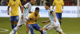 No retrospecto contra o Brasil, Messi leva a pior em sete duelos