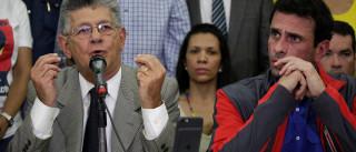 Oposição na Venezuela reclama de golpe  após suspensão de referendo
