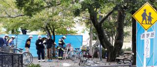 Suicida pode ter causado explosões  em parque japonês