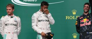 Hamilton vence nos EUA, mas Rosberg ainda  mantém boa vantagem