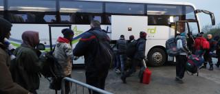 Refugiados começam a deixar 'selva' em Calais