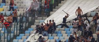 Polícia autua 42 torcedores por briga na  reabertura do Maracanã