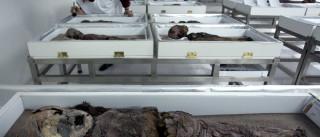 Múmias mais antigas do mundo estão 'abandonadas'