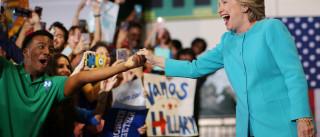 Hillary avança 14 pontos percentuais sobre Trump