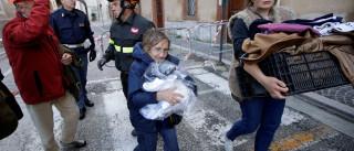 Um dia após terremoto, Itália tem mais  de 2 mil desabrigados