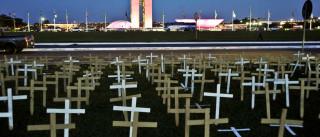 Brasil tem mais mortes violentas  do que a Síria em guerra