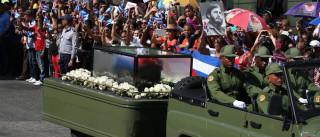 Cinzas de Fidel voltam ao 'berço da revolução'