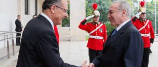Vamos aguardar os desdobramentos, diz Alckmin sobre Temer