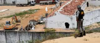 Peritos encontram partes de corpos em Alcaçuz