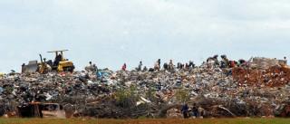 Quadrilha usa lixão em Bangu, no Rio,  como cemitério particular