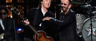 Após 7 anos, Paul Mccartney e Ringo  Starr se reúnem em estúdio