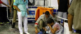 Vítima de acidente na Sapucaí  piora e está em estado grave