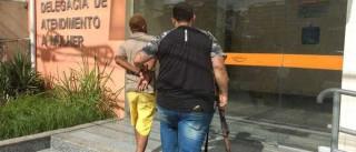 Polícia volta a prender suspeito de  agredir mãe a pauladas no Rio