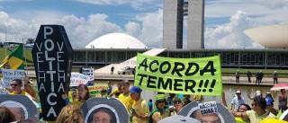Ato pró-Lava Jato em Brasília tem poucos manifestantes