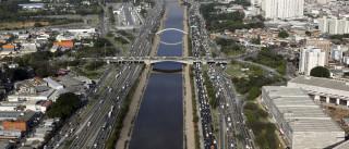 São Paulo retoma ação para  despoluir 89 córregos e aliviar Rio Tietê