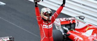 Vettel vence o GP de Mônaco; Massa termina a prova em 9º