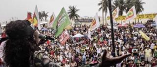 Artistas, políticos e movimentos sociais fazem ato por diretas no Rio