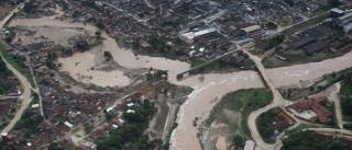 Chuvas deixam sete mortos e 54 mil  pessoas desabrigadas em PE e AL