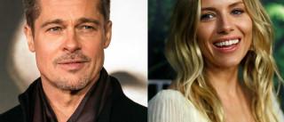 Brad Pitt é visto trocando carícias com Sienna Miller em festival