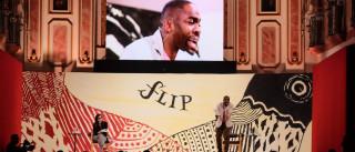 Lázaro Ramos apoia grito de 'Fora, Temer' na abertura da Flip