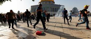 Novos protestos em Jerusalém têm confrontos  e mais de cem feridos