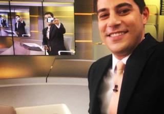 Evaristo Costa conta segredo para  tirar as fotos na web