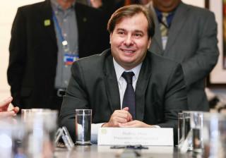 Rodrigo Maia diz esperar votação de  reforma trabalhista em abril