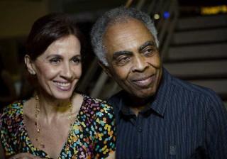 Esposa de Gilberto Gil fica chateada com boatos de morte do marido