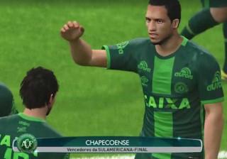 Fã simula final da Sul-Americana no videogame, com vitória de Chape