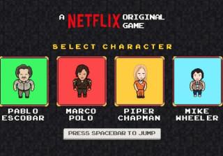 Netflix lança jogo online com   temas de Narcos e Stranger Things