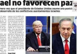 Gafe: jornal se confunde e troca Donald Trump por ator em foto