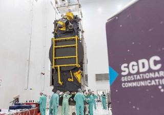 Lançamento de satélite ao espaço continua  sem data definida