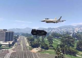 Piloto malabarista de carros no GTA V