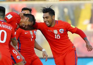 Chile bate Venezuela e entra na zona de classificação