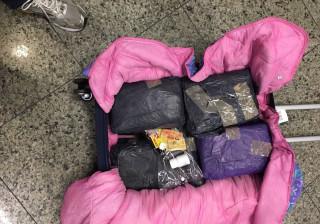 Cabeleireiro é preso com 13 kg de maconha  em aeroporto do Ceará